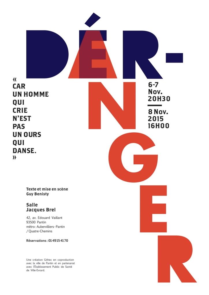 """alt=""""Affiche de la piece de theatre Deranger"""">"""